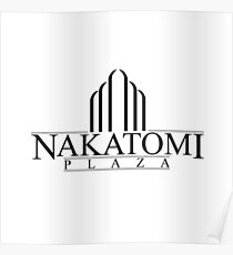 Nakatomi Plaza - Die Hard Poster