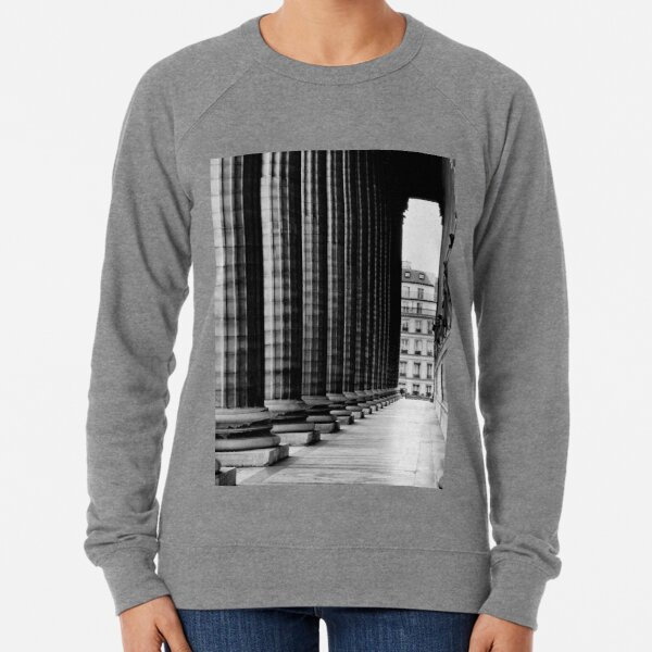 Perpendicular Perspective - Paris France Lightweight Sweatshirt