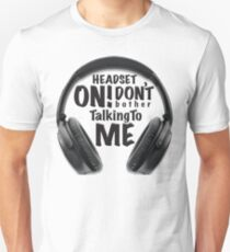 headset ON! T-Shirt