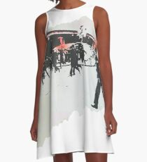 The Clash  A-Line Dress
