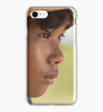 Young Goat Herder iPhone Case/Skin