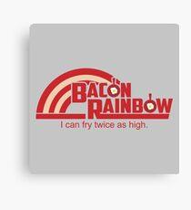 Bacon Rainbow Canvas Print