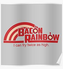 Bacon Rainbow Poster