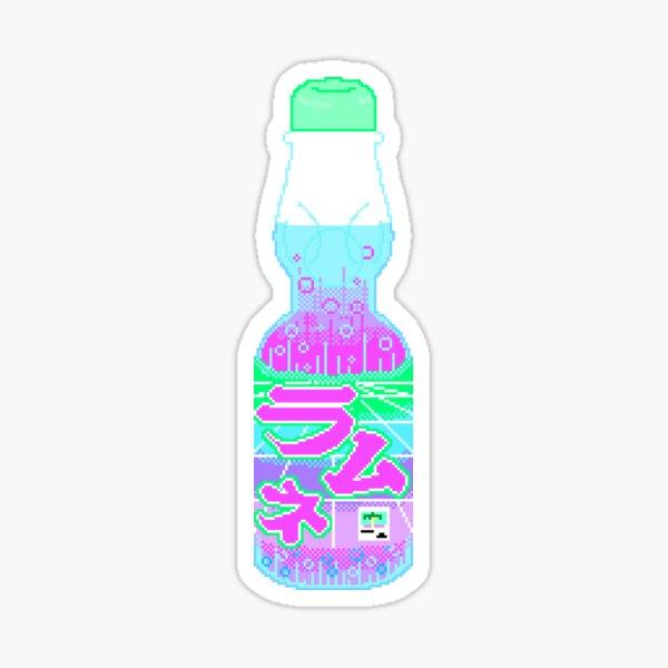 Vaporwave Ramune Sticker