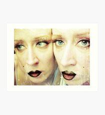 Absinthe Mirror Art Print