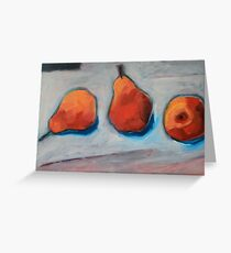 123 PEARS Greeting Card
