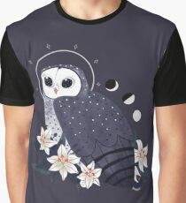 Familiar - Sooty Owl Graphic T-Shirt