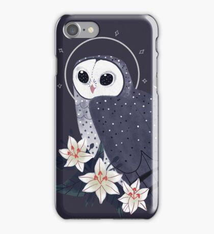 Familiar - Sooty Owl iPhone Case/Skin