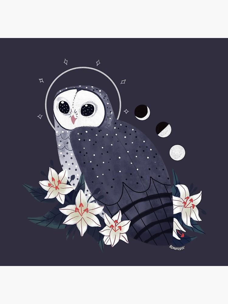 Familiar - Sooty Owl by straungewunder