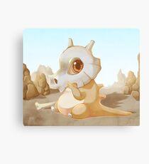 Cute Cubone Canvas Print