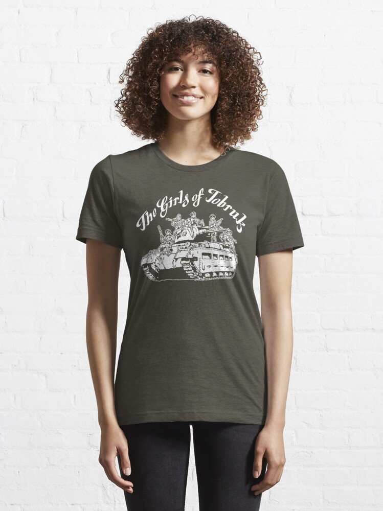 Alternate view of The Girls of Tobruk Essential T-Shirt
