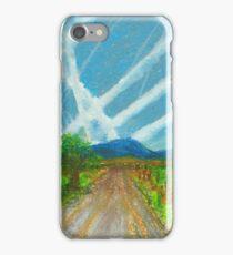 Montana Backgroad iPhone Case/Skin