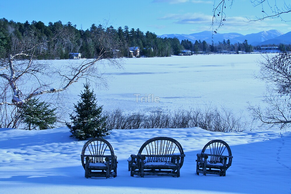 Mirror Lake ... frozen by Trifle