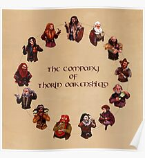 The Company of Thorin Oakenshield Poster