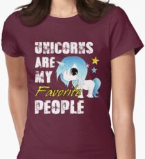 Unicorns are my favorite People T-Shirt