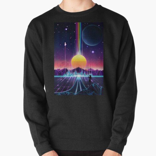 Neon Sunrise Pullover Sweatshirt
