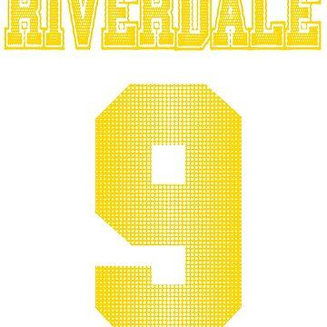 Riverdale Bulldogs #9 by Numnizzle