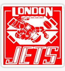 London Jets Zero G Football Sticker