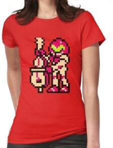 Metroid Musician from Tetris Womens Fitted T-Shirt