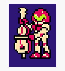 Metroid Musician from Tetris Photographic Print