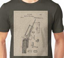 1839 Colt Firearm Patent Unisex T-Shirt