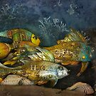 Fishes Three by Clare Colins