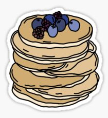 stack of pancakes Sticker