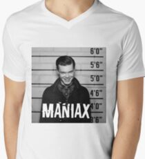 Maniax Men's V-Neck T-Shirt