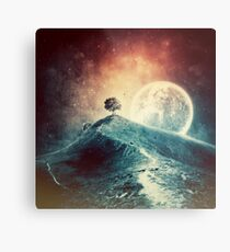Under the colorful moonlight Metal Print
