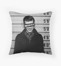 Maniax Throw Pillow