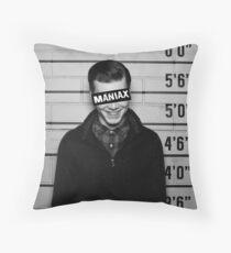 Maniax Throw Pillow