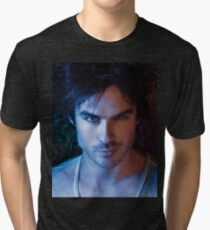 Damon Salvatore Tri-blend T-Shirt
