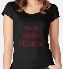 Nicht Mein Führer Women's Fitted Scoop T-Shirt