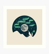Arctic Tune Art Print