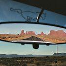 Rearview mirror Utah by Julio Vasconcellos