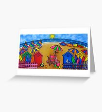 Beach Colours Greeting Card