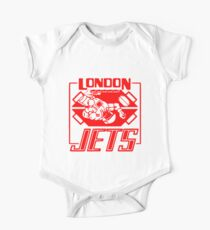 London Jets Zero G, red - Red Dwarf One Piece - Short Sleeve