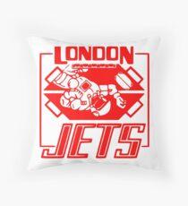 London Jets Zero G, red - Red Dwarf Throw Pillow