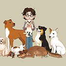 Will Graham + Dogs by Casey Shaffer