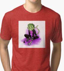 Beast Boy Tri-blend T-Shirt