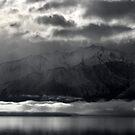 Lake Hawea Moods by Peter  Sundstrom