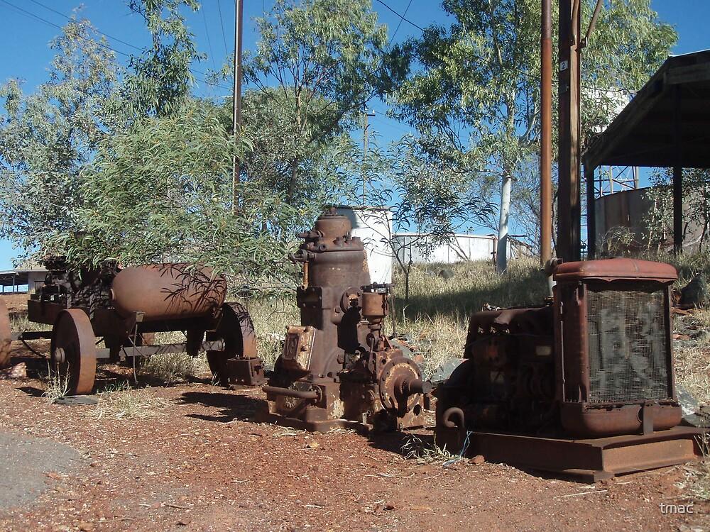 Tennant Creek, NT, Australia - Old Rusty Stuff 1 by tmac