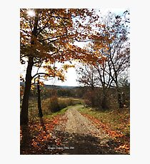 Redbubble Morgan County Lane Photographic Print