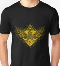 Heart Shield Triforce Gold 3/3 T-Shirt