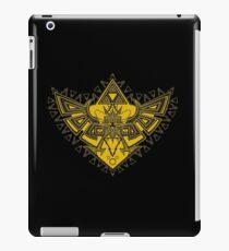 Heart Shield Triforce Gold 3/3 iPad Case/Skin