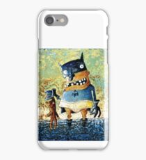 Ridding the world of evil iPhone Case/Skin