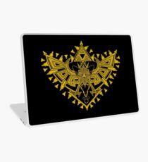 Heart Shield Triforce Gold 2/3 Laptop Skin