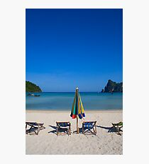 Beach in thailand Photographic Print