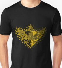 Heart Shield Triforce Gold 1/3 T-Shirt
