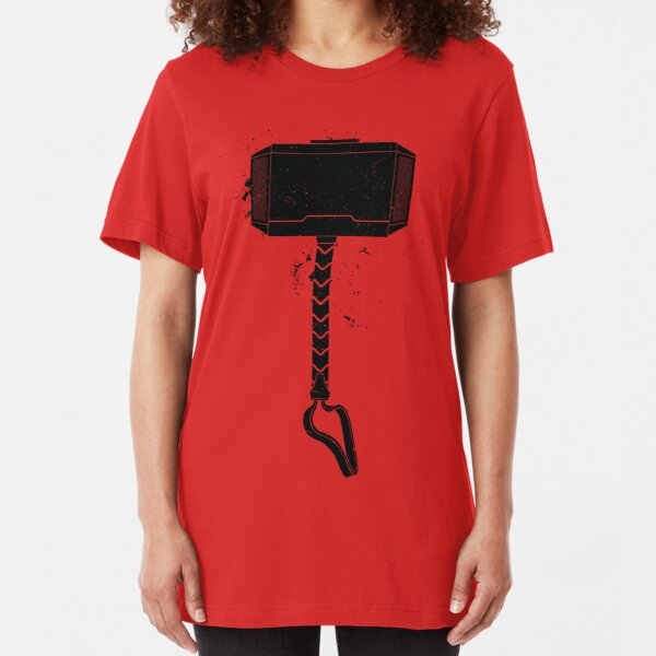 MJOLNIR - HAMMER OF THE GODS Slim Fit T-Shirt